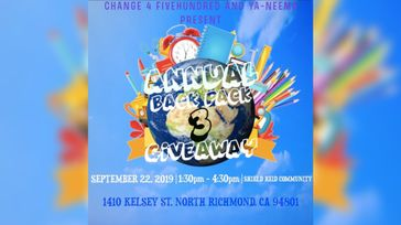 3rd Annual Backpack Giveaway