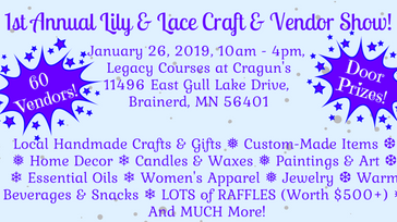 1st Annual Lily & Lace Craft & Vendor Show