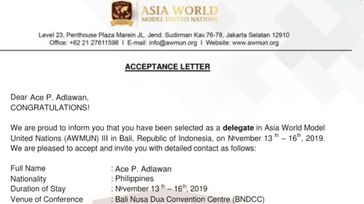 Asian World Model United Nation (AWMUN)