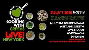 Cooking With Greens Live! NY