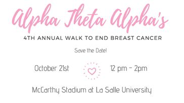 4th Annual Walk to End Breast Cancer