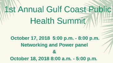 Gulf Coast Public Health Summit