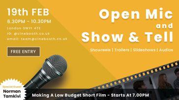 Cinebooth - Networking & Screening