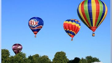 Strathaven balloon festival 20th Anniversary