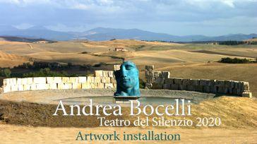 Andrea Bocelli - Teatro del Silenzio - Costruzione dell'opera centrale 2020