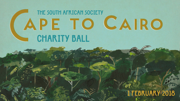 Cape to Cairo - South African Society Charity Ball