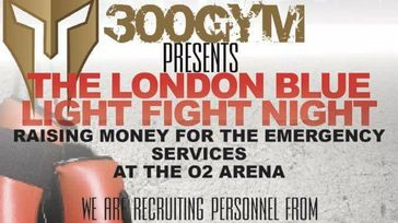 Emergency Services Charity Fight Night