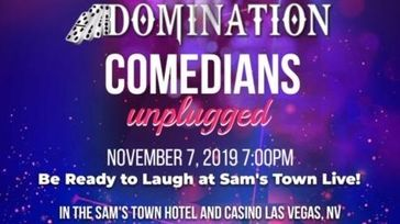 Domination Celebrity Charity: Comedians Unplugged