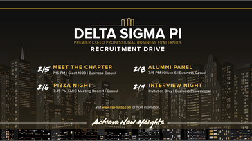 Fall 2018 Recruitment Drive