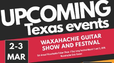 5th Annual Metro Guitar Show in Waxahachie