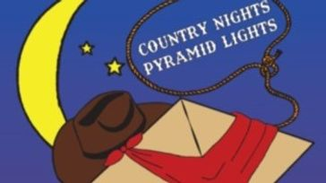 Country Nights Pyramid Lights