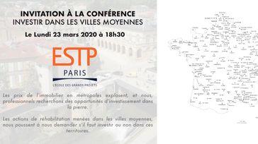 Conférence quel avenir pour les villes moyennes