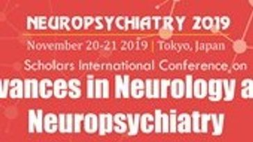 Scholars International Conference on Advances in Neurology and Neuropsychiatry