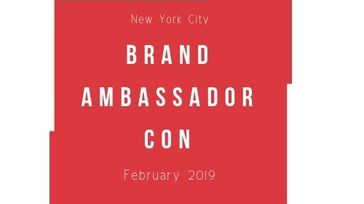 Brand Ambassador Con