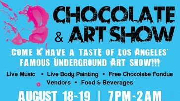 Chocolate & Art Benefiting Artists For Trauma