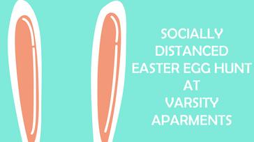 Socially Distanced Easter Egg Hunt