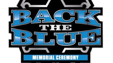 Back the Blue Memorial Ceremony