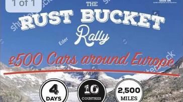 The rust bucket rally