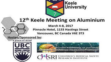 12th Keele Meeting on Aluminium