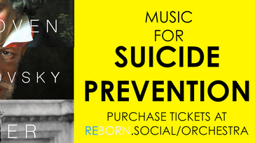 Suicide Prevention Concert with Orchestra Amadeus