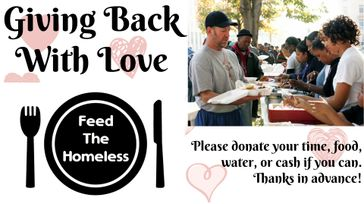 Giving With Love Feed the Homeless