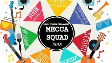 'mecca'-hindu collage annual fest