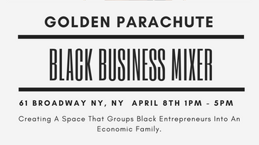 Golden Prachute Black Business Mixer