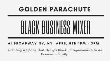 Golden Prachute Black Business Mixer