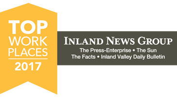 2017 Inland Empire Top Workplaces