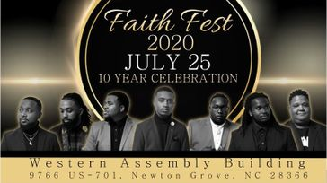 SONS OF FAITH ANNIVERSARY CONCERT