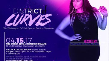 District Of Curves:  The Washington DC Full Figured Fashion Showcase & Cocktail Hour