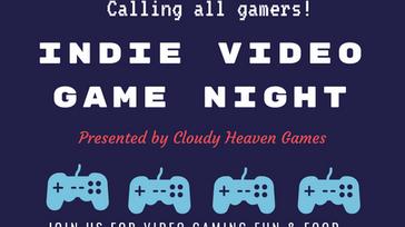 Indie Video Game Night