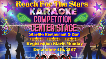 Reach For The Stars Karaoke Contest