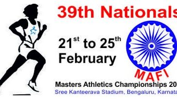 39th National Masters Athletics Championship 2018