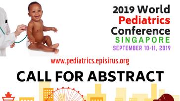 2019 World Pediatrics Conference