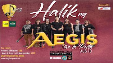 Halik ng AEGIS Live in Perth