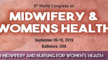 6th World Congress on Midwifery and Women's Health