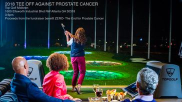 Tee-Off Against Prostate Cancer - TopGolf Midtown