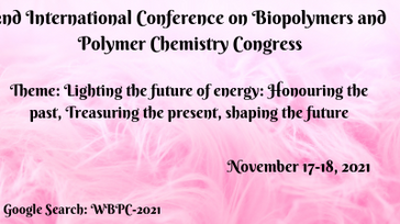 2nd International Conference on Biopolymers and Polymer Chemistry Congress