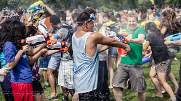 world water fight
