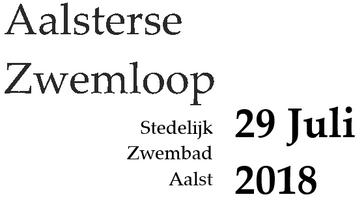 Aalsterse Zwemloop 2018