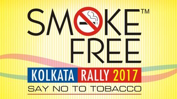 Smoke Free Kolkata Rally 2017