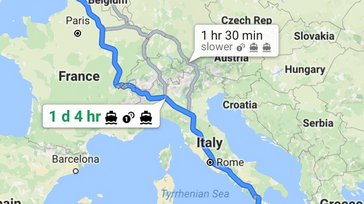 Amazing walk from London to Sicily