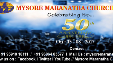 MARANATHA's 50th Anniversary Celebration
