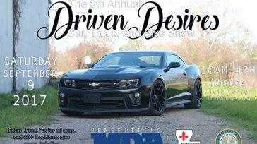 Driven Desires Car, Truck & Bike Show for MDA