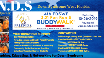 4TH FDSWF 3.21 FUN RUN & BUDDY WALK
