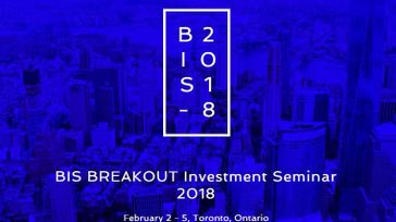 BIS Breakout Investment Seminar 2018