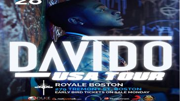 DAVIDO LIVE IN BOSTON