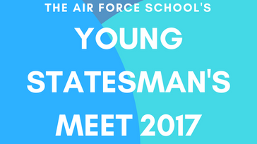 The air Force school young statesmen meet