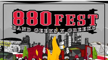 880 Fest: Band Geeks and Greeks edition. Battle of The Bands After Party